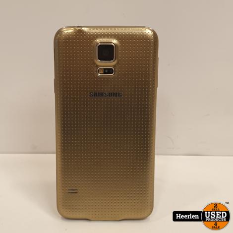 Samsung Galaxy S5 16GB | Gold | B-Grade | Met Garantie