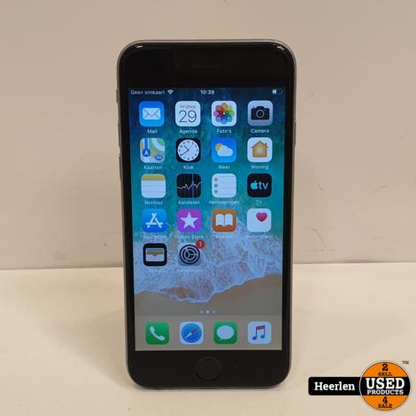 Apple iPhone 6 64GB | Zilver | C-Grade | Met Garantie