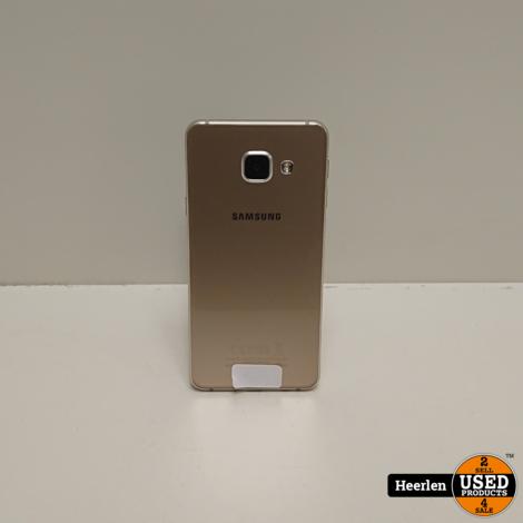 Samsung Galaxy A3 2016 16GB | Goud | B-Grade | Met Garantie
