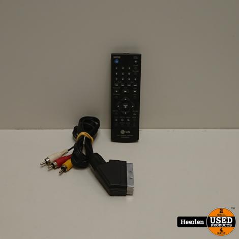 LG DV640 DVD Speler | Zwart | B-Grade | Met Garantie