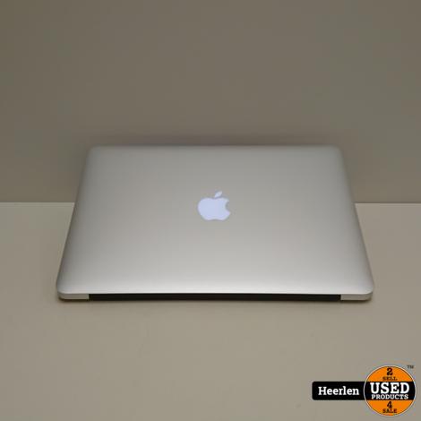 Apple Macbook Air Mid 2013 | Intel Core i5-4250U | 4GB - 256GB SSD | A-Grade | Met Garantie