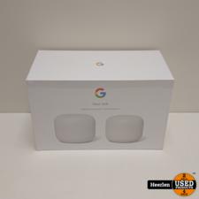 Google Google Nest WiFi 2-Pack | Wit | Nieuw | Met Garantie