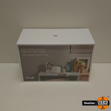 Google Nest WiFi 2-Pack | Wit | Nieuw | Met Garantie