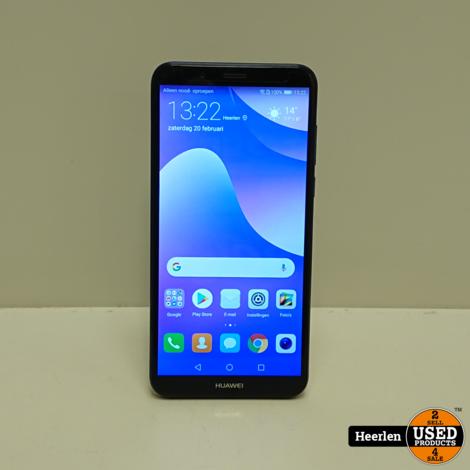 Huawei Y7 2018 16GB | Blauw | A-Grade | Met Garantie