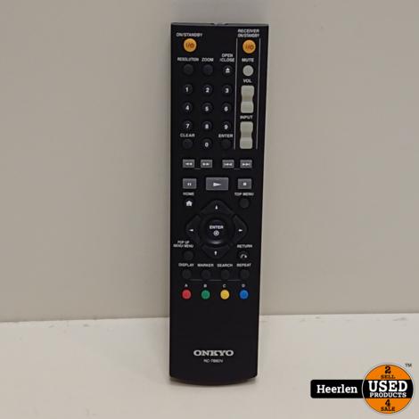 Onkyo BD-SP308 Blu-Ray Speler   Zwart   A-Grade   Met Garantie