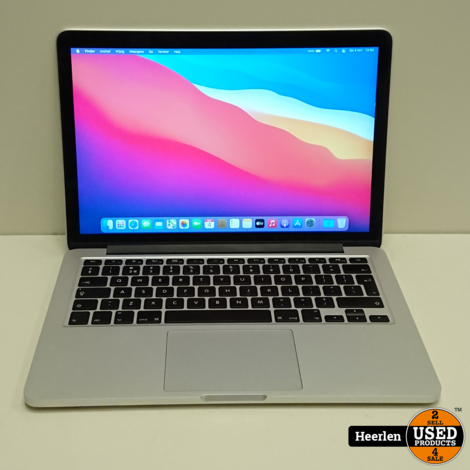 Apple Macbook Pro Early 2015 | Intel Core i5-5257U | 8GB - 128GB SSD | B-Grade | Met Garantie