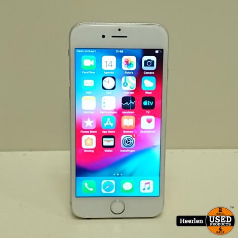 Apple iPhone 6 16GB | Zilver | B-Grade | Met Garantie