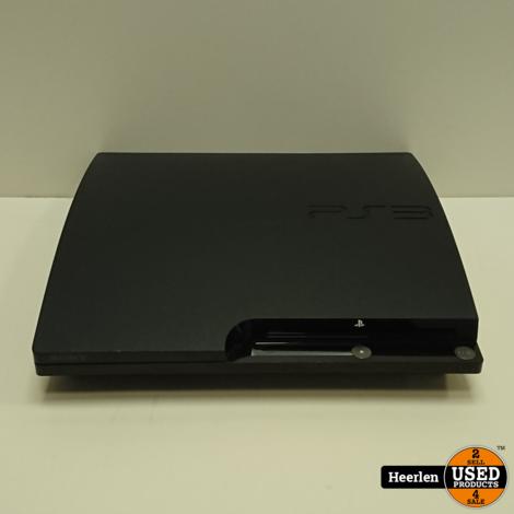 Sony Playstation 3 Slim 250GB | Zwart | B-Grade | Met Garantie