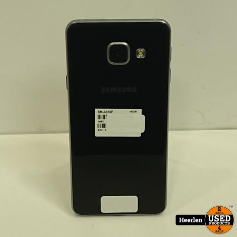 Samsung Galaxy A3 2016 16GB | Zwart | B-Grade | Met Garantie