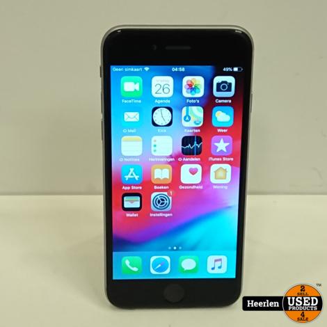 Apple iPhone 6 64GB | Space Gray | A-Grade | Met Garantie
