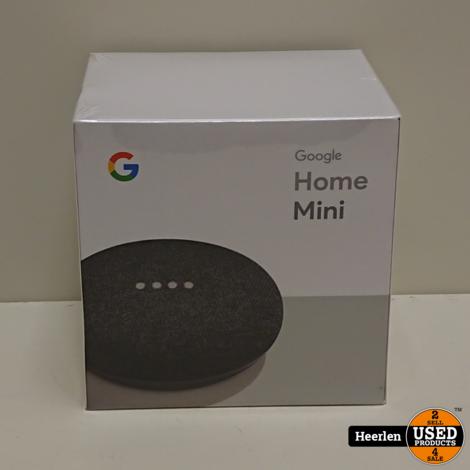 Google Home Mini | Zwart | Nieuw | Met Garantie