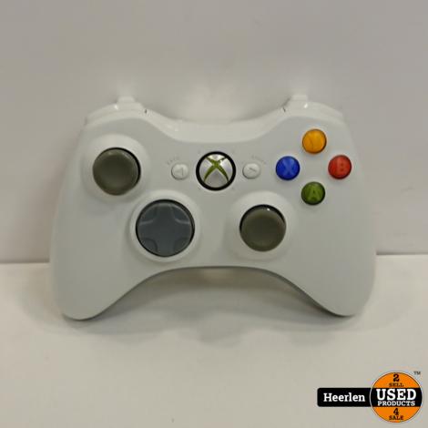 Microsoft Xbox 360 Controller | Wit | B-Grade | Met Garantie