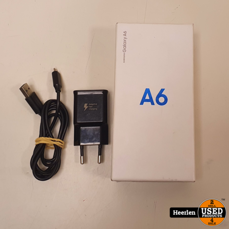 Samsung Galaxy A6 2018 32GB | Zwart | B-Grade | Met Garantie