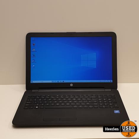 HP 15   Intel Celeron N3050   4GB - 120GB SSD   A-Grade   Met Garantie