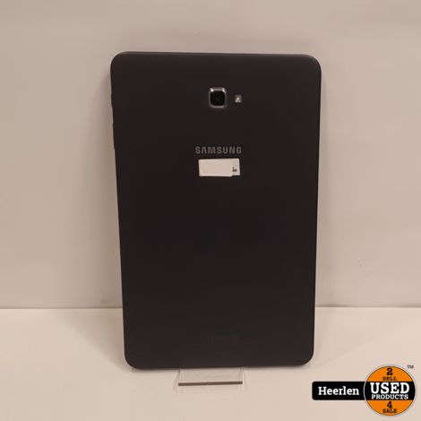Samsung Galaxy Tab A 10.1 2016 Wi-Fi 16GB | Zwart | B-Grade | Met Garantie