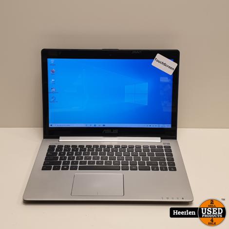Asus Vivobook S400CA | Intel Core i5-3337U | 4GB - 750GB | B-Grade | Met Garantie