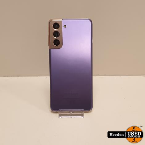 Samsung Galaxy S21 256GB | Paars | A-Grade | Met Garantie