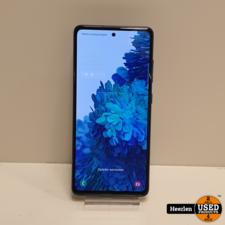 Samsung Samsung Galaxy S20 FE 4G 128GB   Blauw   A-Grade   Met Garantie