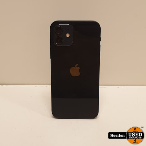 Apple iPhone 12 128GB | Zwart | B-Grade | Met Garantie