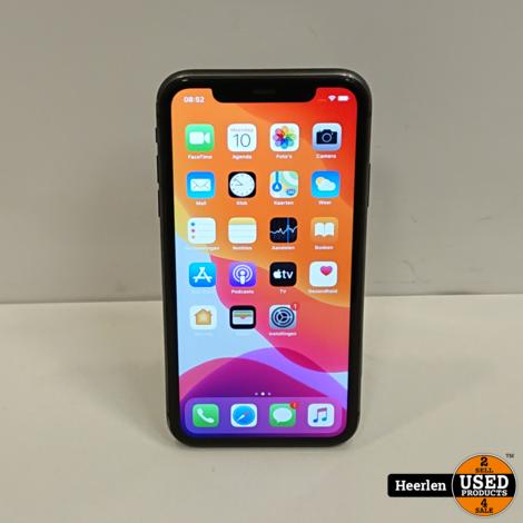 Apple iPhone 11 128GB | Zwart | C-Grade | Met Garantie