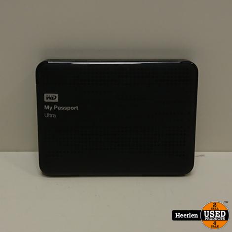 WD My Passport Ultra 1TB | Zwart | A-Grade | Met Garantie