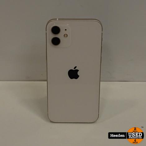 Apple iPhone 12 128GB | Wit | B-Grade | Met Garantie