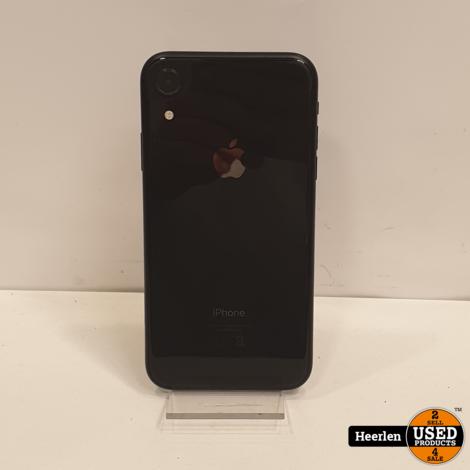 Apple iPhone XR 128GB | Zwart | B-Grade | Met Garantie