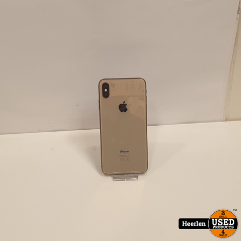 Apple iPhone XS Max 64GB | Goud | B-Grade | Met Garantie