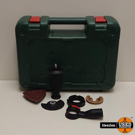 Bosch PMF 350 CES Multitool | Groen | B-Grade | Met Garantie