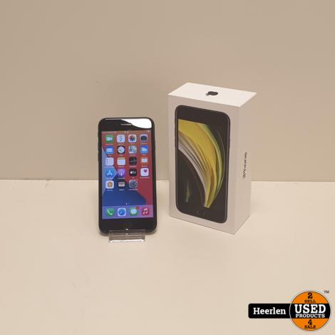 Apple iPhone SE (2020) 128GB   Zwart   B-Grade   Met Garantie