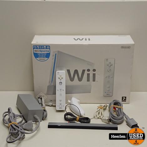 Nintendo Wii   Wit   B-Grade   Met Garantie