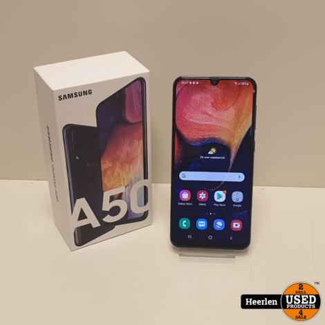 Samsung Galaxy A50 128GB   Zwart   B-Grade   Met Garantie