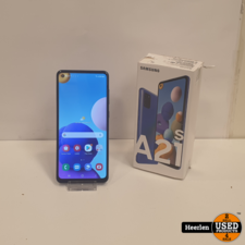 Samsung Samsung Galaxy A21s 64GB   blauw   A-Grade   Met Garantie