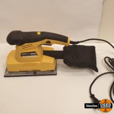 Powerplus Powerplus Vlakschuurmachine | geel | B-Grade | Met Garantie
