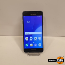Samsung Samsung Galaxy A3 2016 16GB   Zwart   A-Grade   Met Garantie