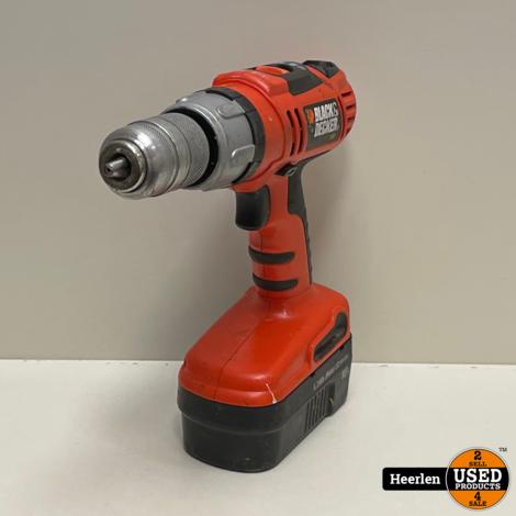 Black en Decker HP188F2K Accuboorhamer | Oranje | C-Grade | Met Garantie