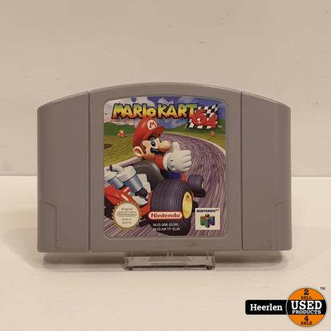 Nintendo Mario Kart 64   Game   A-Grade   Met Garantie