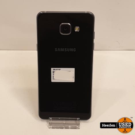 Samsung Galaxy A3 2016 16 | Zwart | A-Grade | Met Garantie