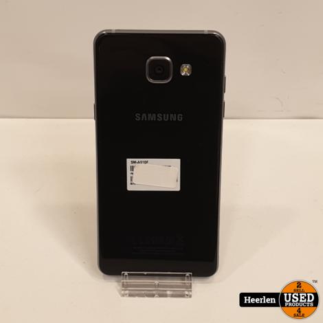 Samsung Galaxy A3 2016 16GB   Zwart   A-Grade   Met Garantie