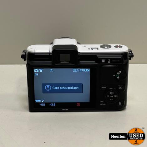 Nikon 1 V1 | Wit | B-Grade | Met Garantie