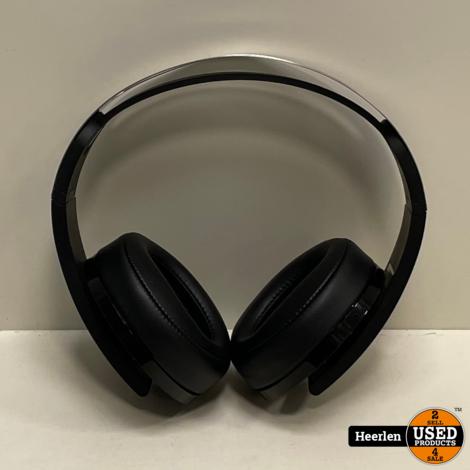 Sony Wireless 7.1 Headset Platinum | Zwart | A-Grade | Met Garantie
