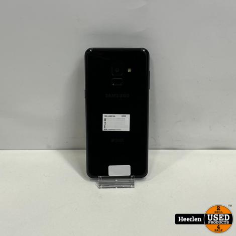 Samsung Galaxy A8 2018 32GB | Zwart | A-Grade | Met Garantie