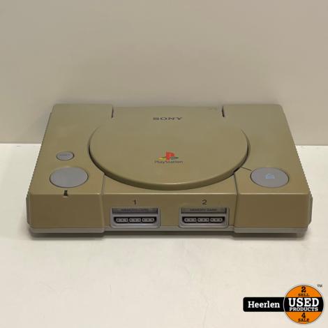 Sony Playstation One   Grijs   B-Grade   Met Garantie