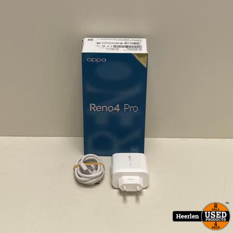 Oppo Reno 4 Pro 128GB   Zwart   A-Grade   Met Garantie