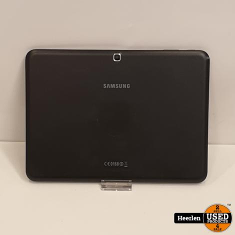 Samsung Galaxy Tab 4 10.1 Wi-Fi 16GB   Zwart   A-Grade   Met Garantie