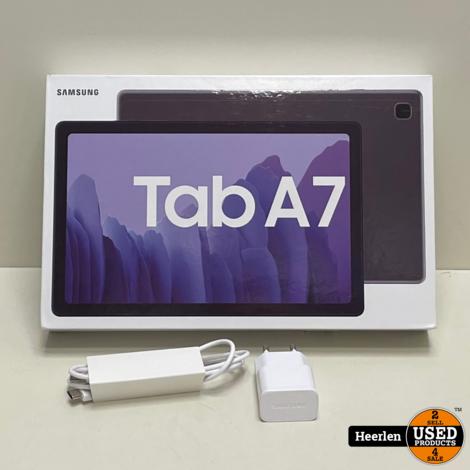 Samsung Galaxy Tab A7 Wi-Fi - 4G 32GB   Zwart   A-Grade   Met Garantie