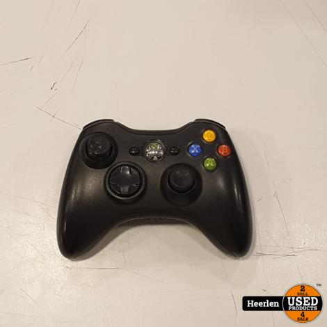 Microsoft Xbox 360 Controller   Zwart   B-Grade   Met Garantie
