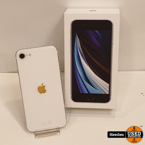 Apple iPhone SE (2020) 64GB   Wit   B-Grade   Accu 94%   Met Garantie