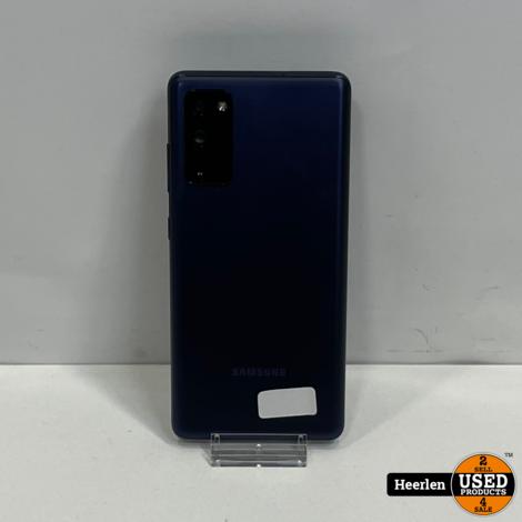 Samsung Galaxy S20 FE 5G 128GB   Blauw   B-Grade   Met Garantie