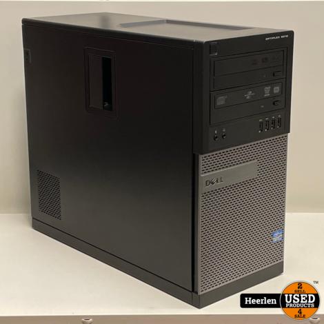 Dell Optiplex 9010   Intel Core i5-3470   8GB - 320GB   B-Grade   Met Garantie